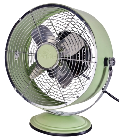 Pale Green Desk Fan